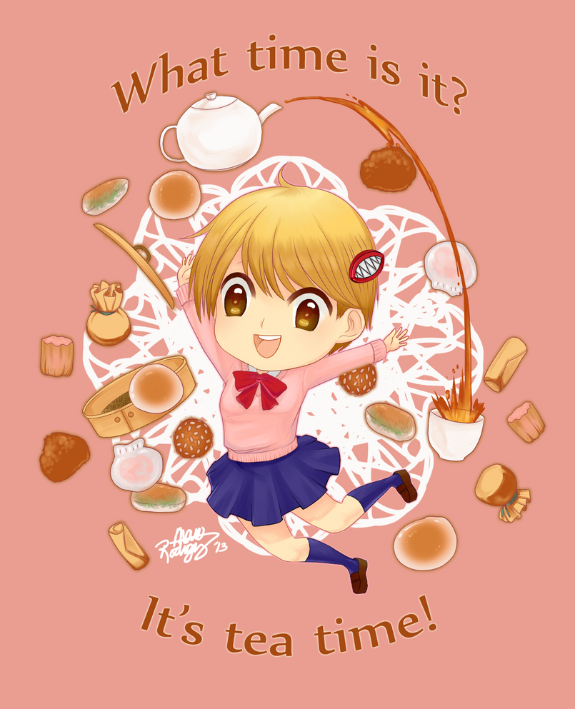 What time is it? by peeps4tea