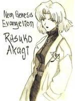 Ritsuko Sketch by peeps4tea