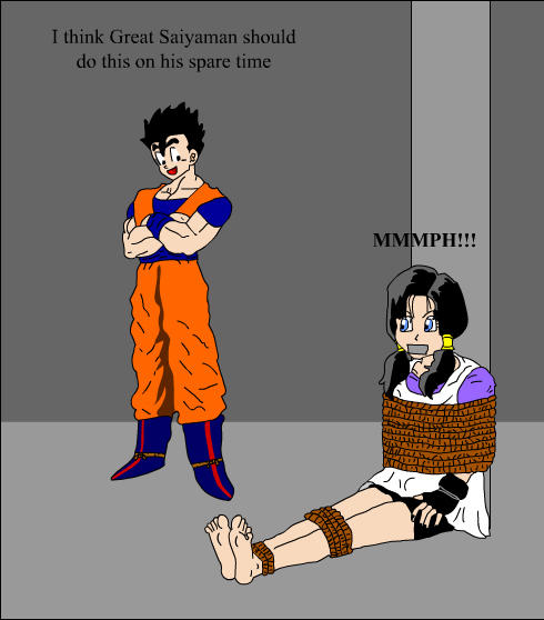 Videl fanfiction lemon bondage