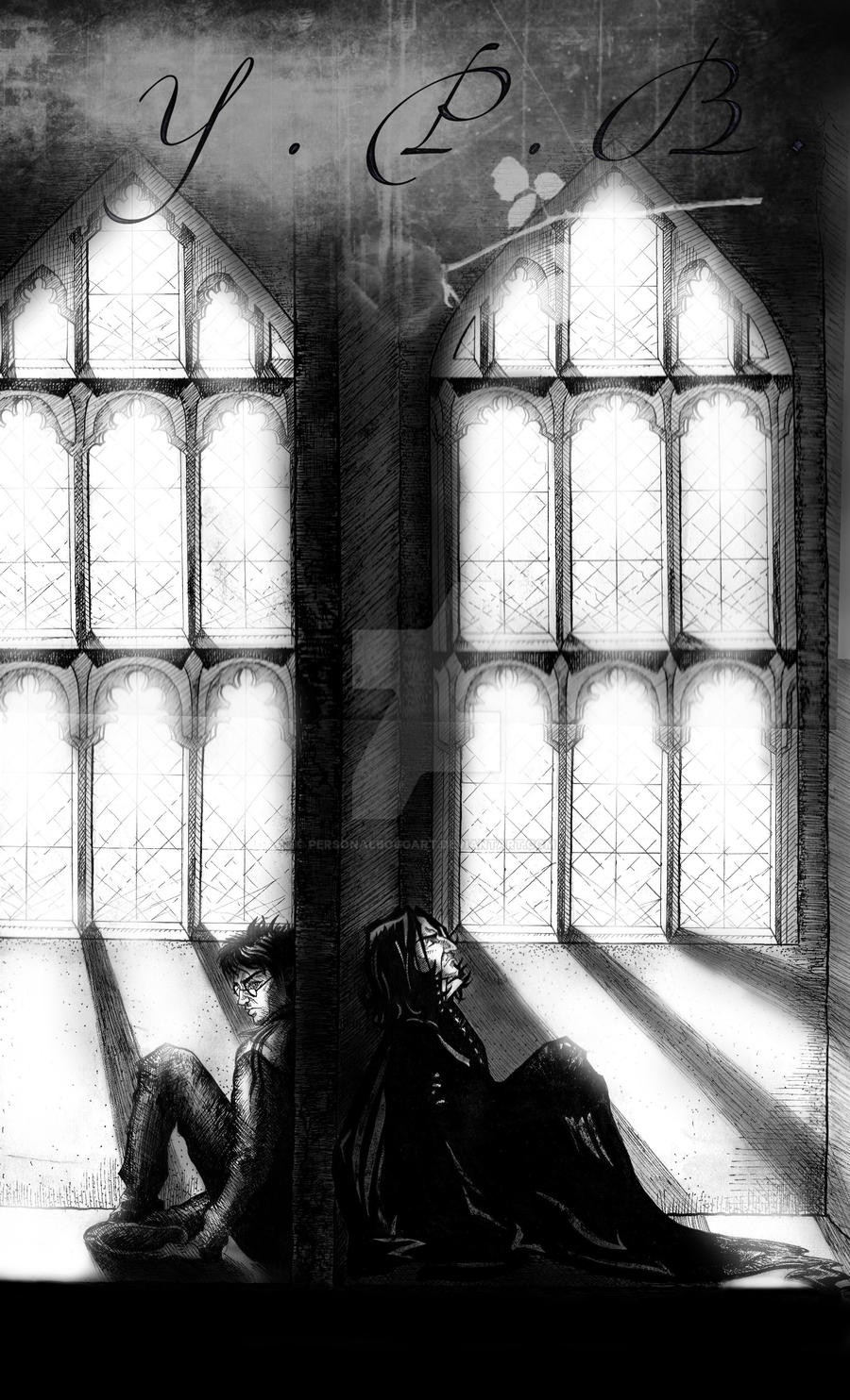 Harry Severus by PersonalBoggart