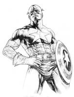 Captain America Tiki tiki by wewong