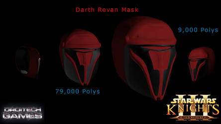 [CONCEPT][3DS MAX] Darth Revan ReModel - V1.0 by DroitechGames