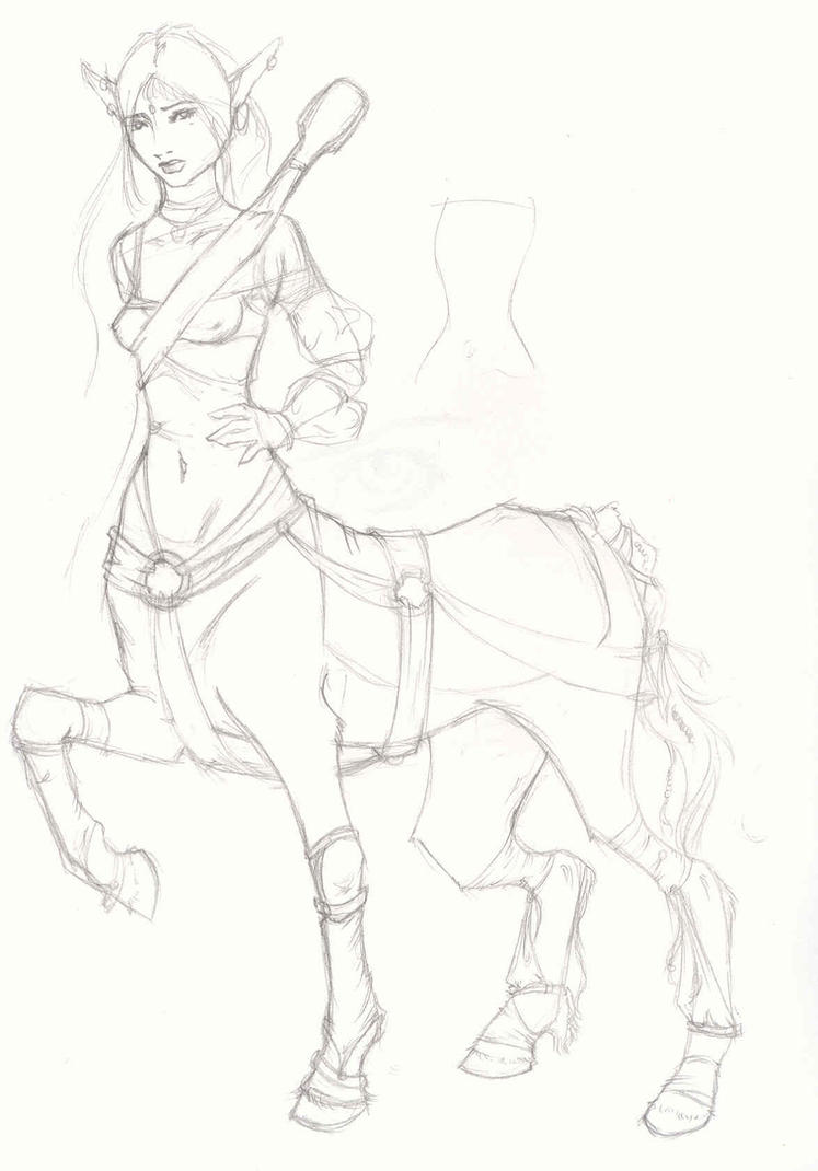 Centaur by Talynden