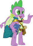 Spike : The Wizard Dragon