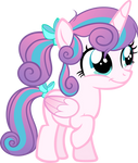 Flurry Heart : Princess of the Crystal Empire by Tales-Fables