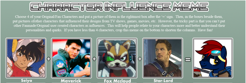 Tomcat Characters Influence Meme by Tales-Fables