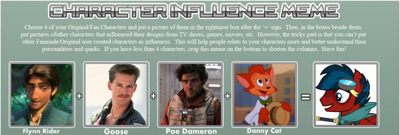 Grumman Characters Influence Meme