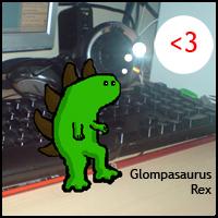 Teeny Roar by Glompasaurus