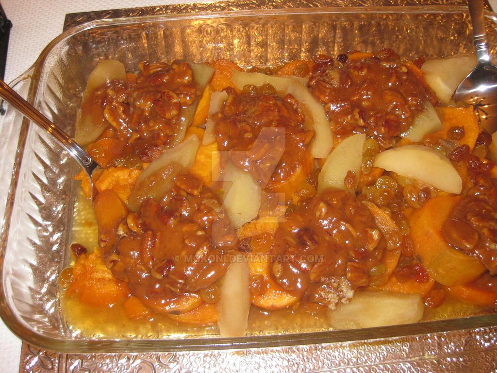 Sweet Potato Praline Casserole by Mokoni