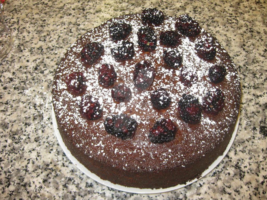 Blackberry Jam Cake by Mokoni