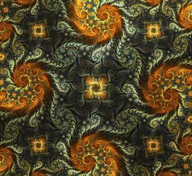 floral vortex by cyberxaos