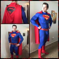 In Progress Superman Cosplay 2