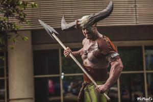 Iron Bull Dragon Age Cosplay