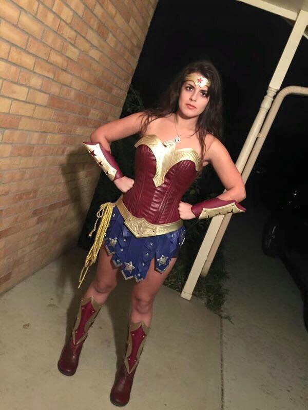 Improved Leather Gladiator Wonder Woman Costume by PhoenixForce85 ...  sc 1 st  DeviantArt & Improved Leather Gladiator Wonder Woman Costume by PhoenixForce85 on ...