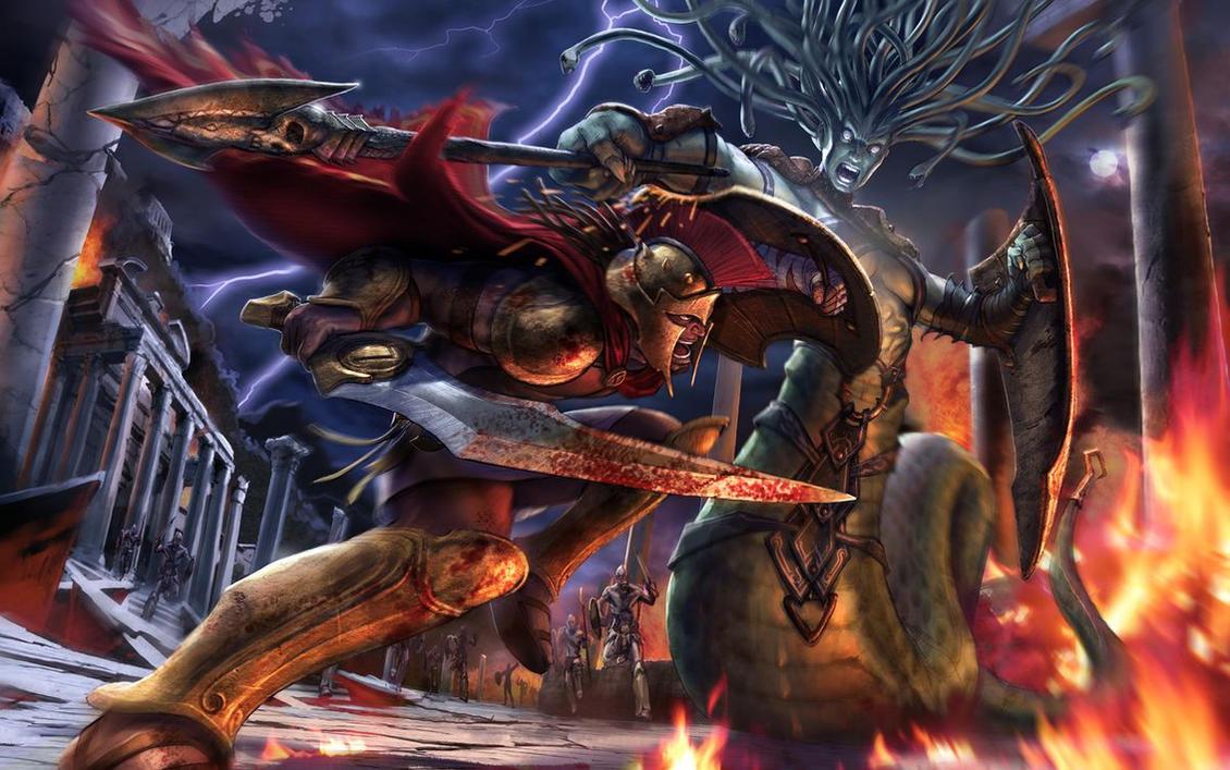 Hero of Sparta by EyeS-L