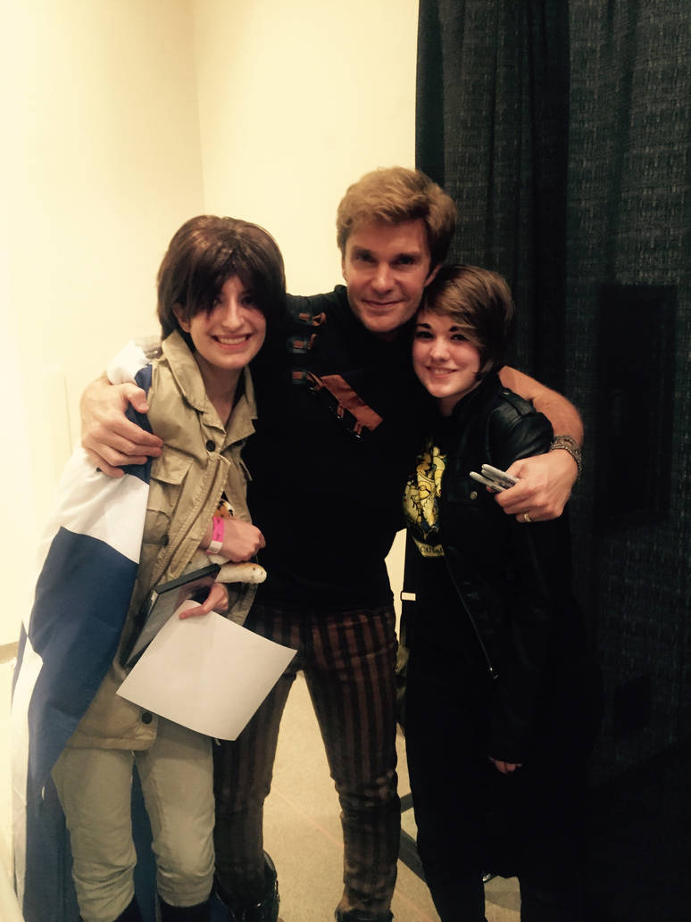 I MET VIC MIGNOGNA!!!! by FeatherWings1638