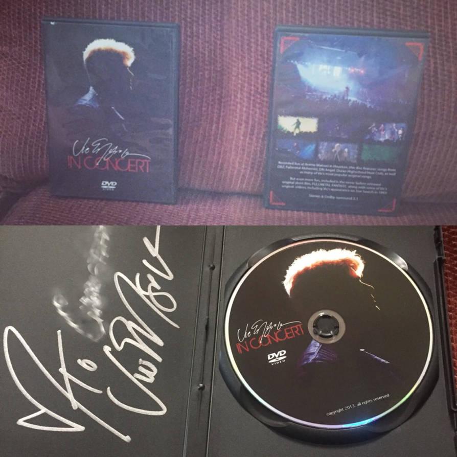 Vic Mignogna's Concert CD by FeatherWings1638