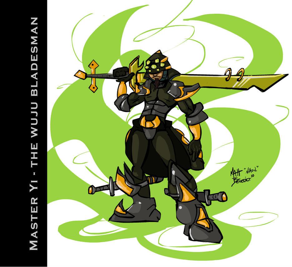Master Yi - Fanart by Nhazul-Anims