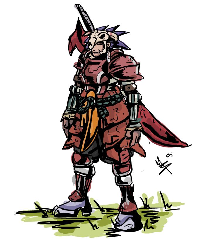 Anime Characters Monster Hunter World : Monster hunter character by nhazul anims on deviantart