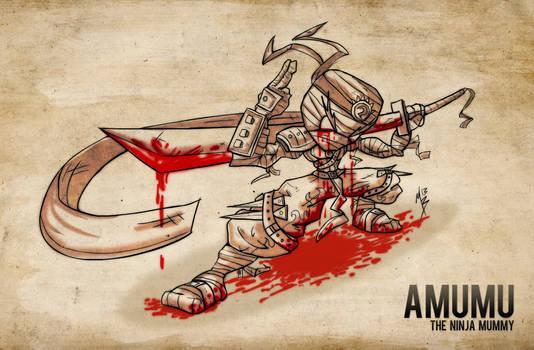 Amumu - The Ninja Mummy by Nhazul-Anims