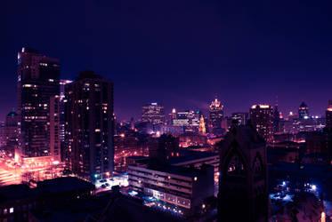 Above Milwaukee by obrazu