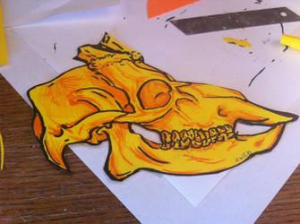 Deer Skull by Zwid