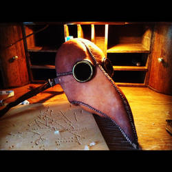 Plague Doctor Mask 2.0 by Zwid