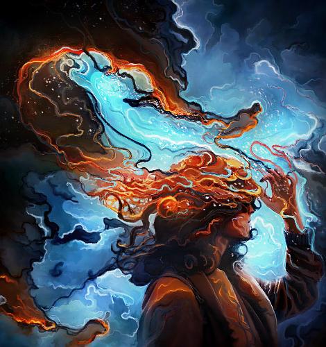 True colors  burning by Darthu