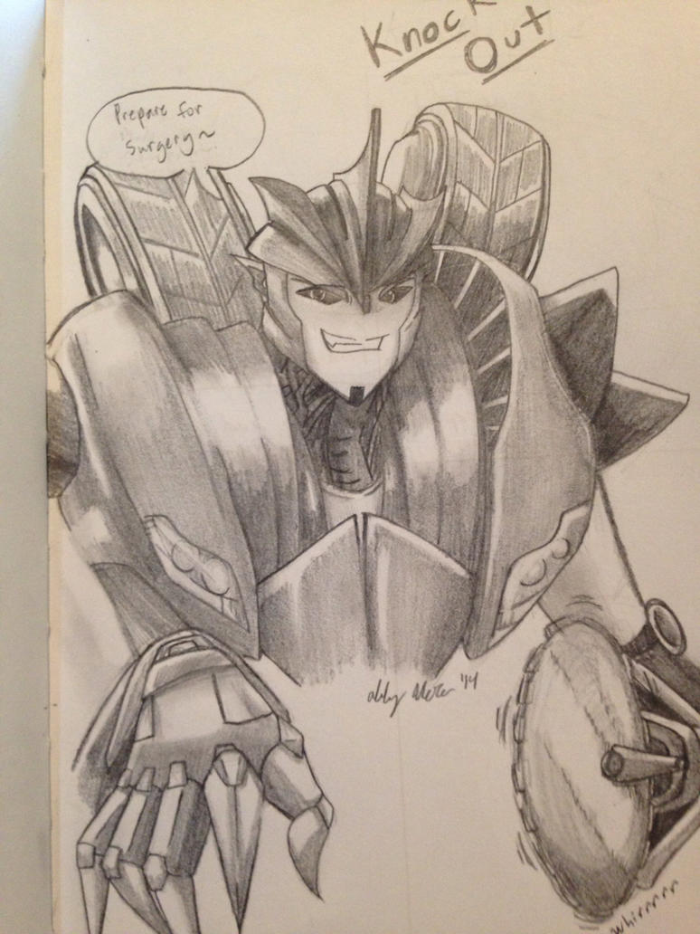 Transformers Prime - Knock Out by OokamiWarrior1234