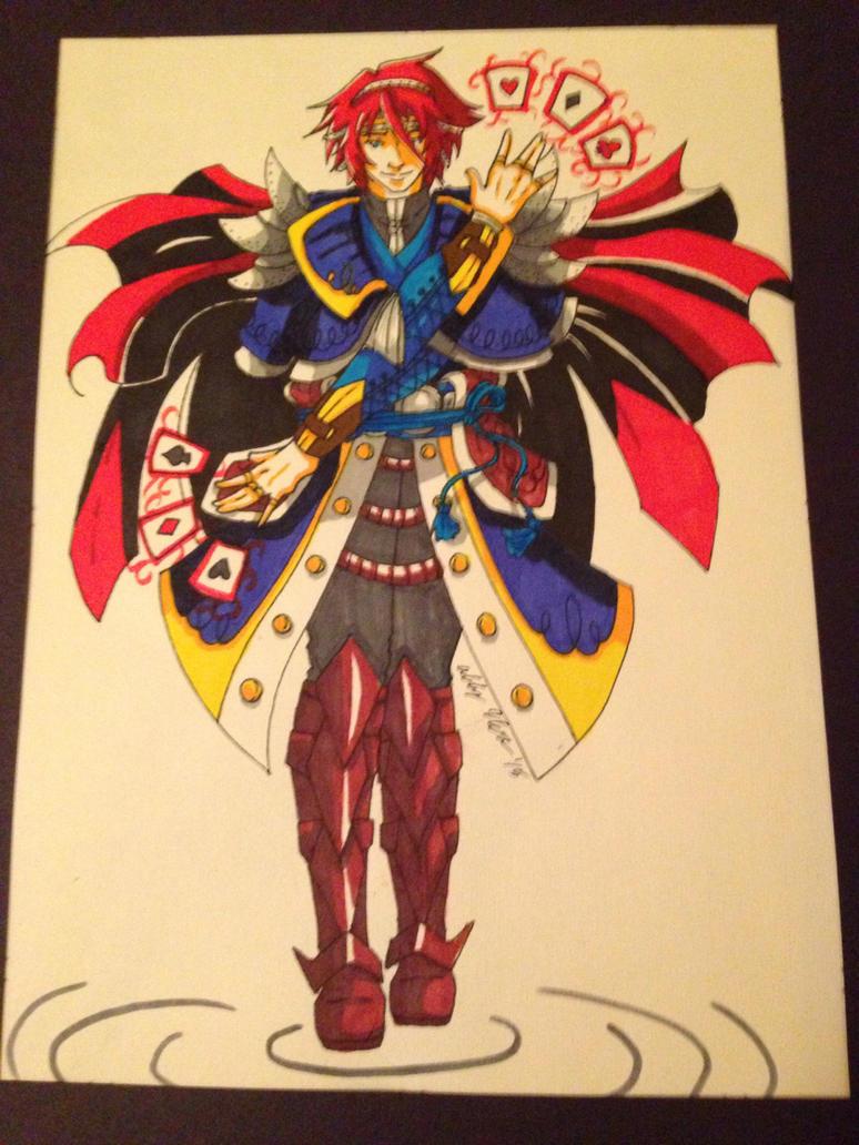 Spade - Oriental Style by OokamiWarrior1234