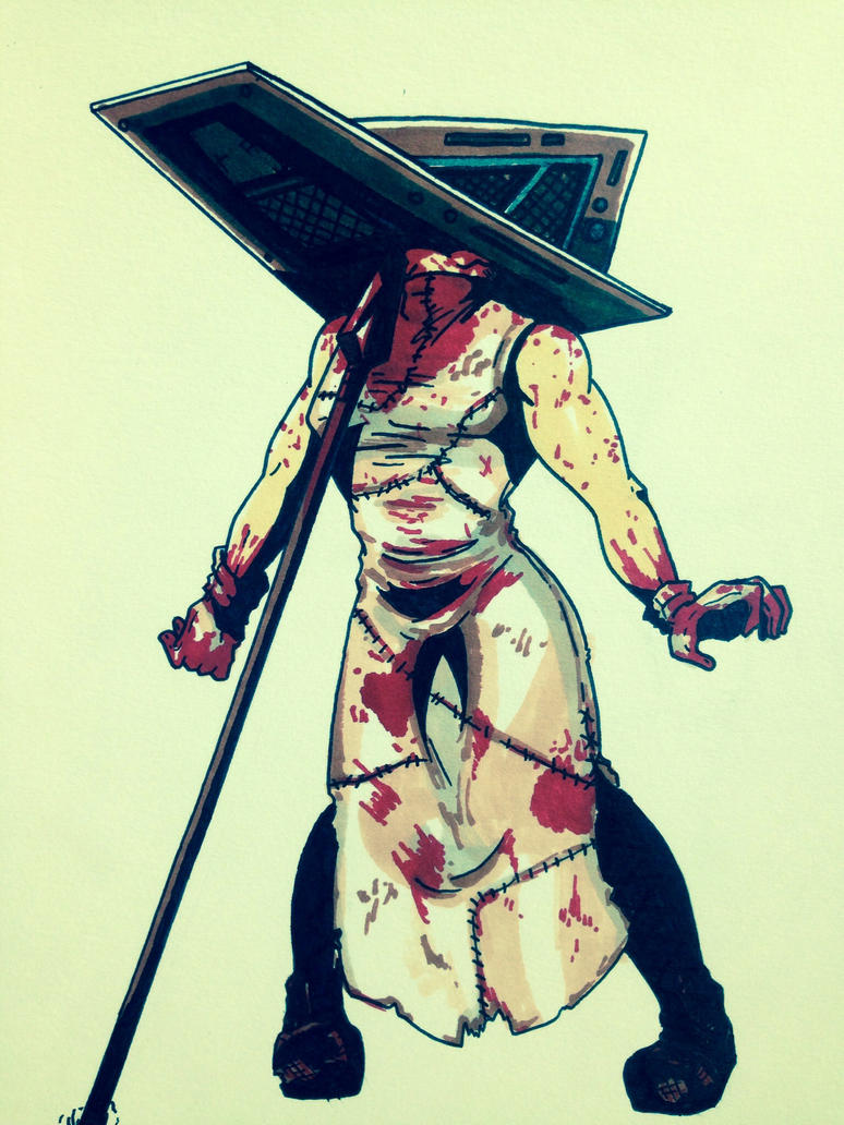 Silent Hill 2: Pyramid Head's Defeat (part 1) by OokamiWarrior1234