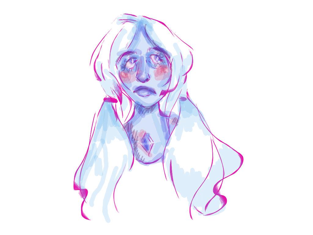 blue diamond by superdoodler26