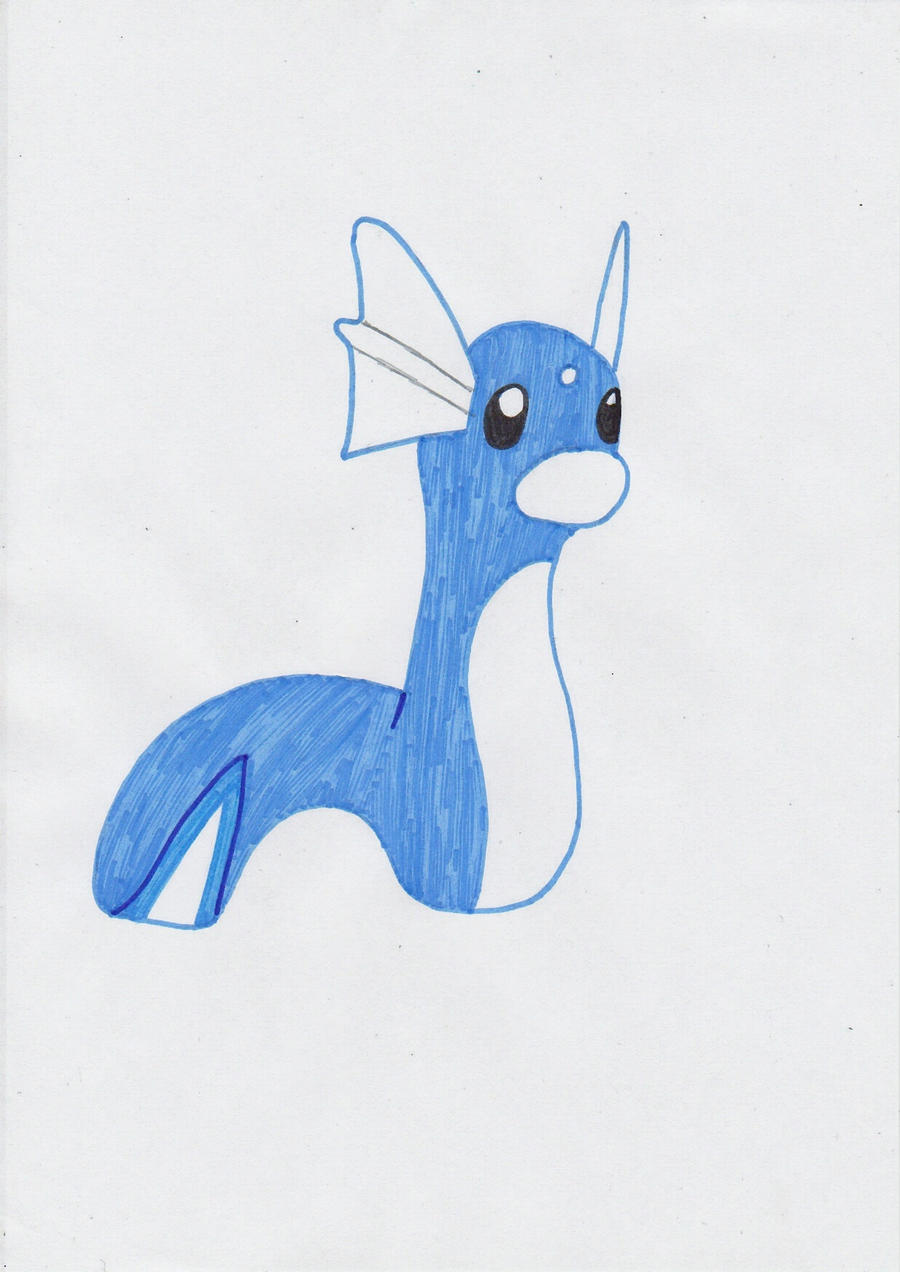 Dratini Colored