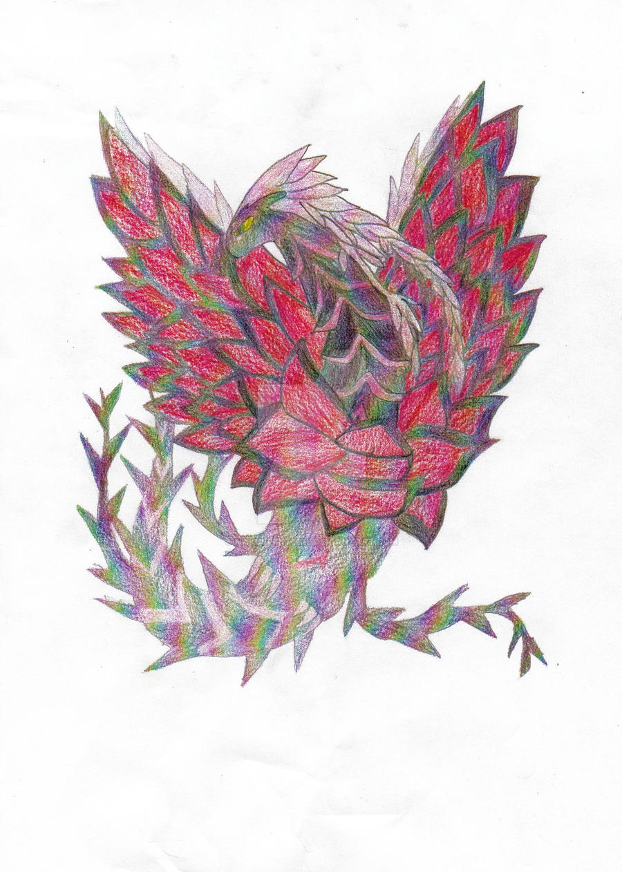 YGO 5D's - Black Rose Dragon