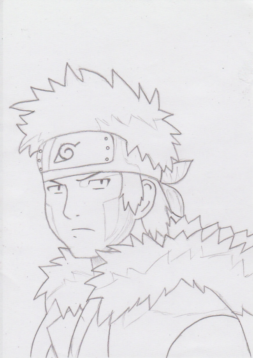 Kiba - Lineart Traditional