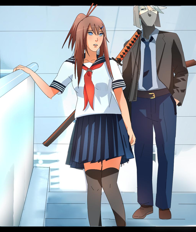 Manga Anime Dororo: Dororo And Hotaru (human Version Of Dororo) By