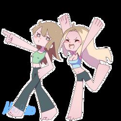 Moi and nao by HotaruSuzuka