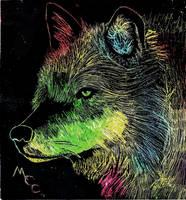 Wolf by Inuzuka-ai