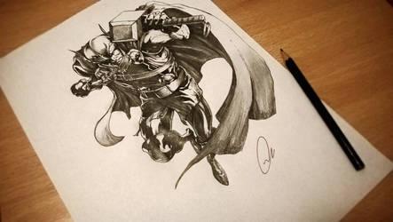 Thor by ZeroFoxFaceless