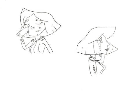 TS - Clover crying sketches