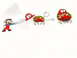 Mario Odyssey in Metroid