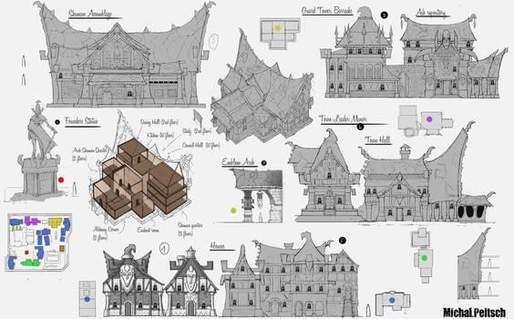 City of Kala concepts