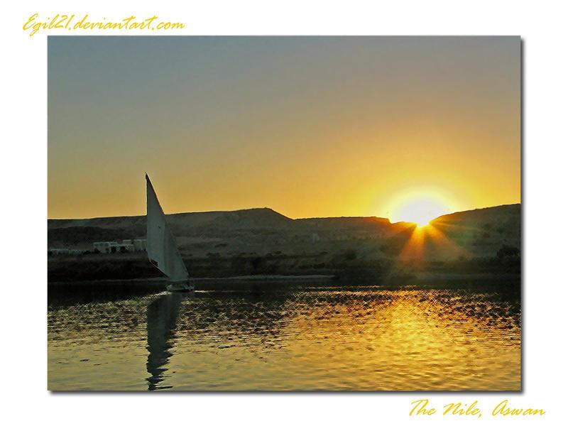 The Nile Postcard by Egil21