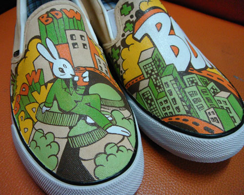 Mr Rabbit , Annatar House custom shoes by Annatarhouse