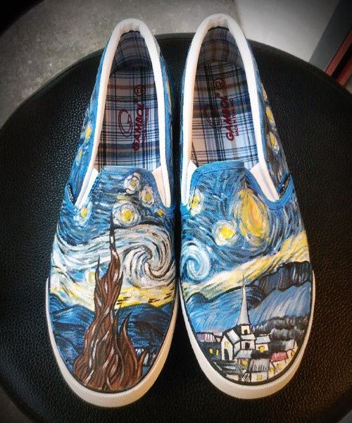 Van Gogh Tennis Shoes