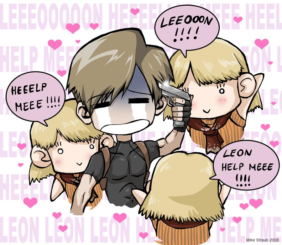 LEEEOOOON HEEEEELP!!!!11 by Famove