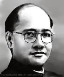 Netaji Subhas Chandra Bose by vharishankar