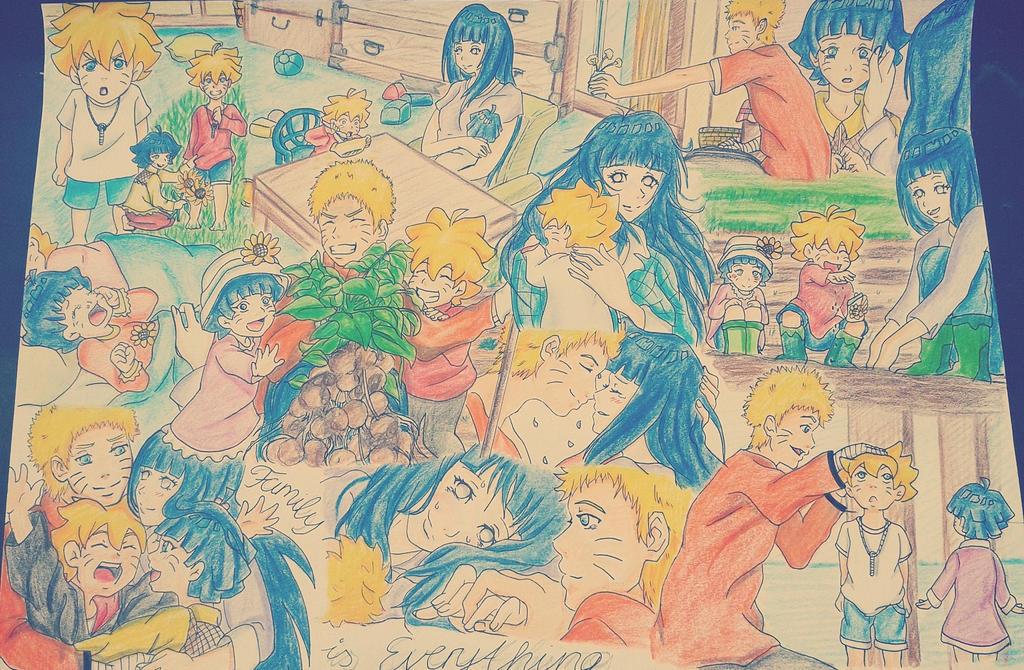 -Kitsune Kodomo no Boruto to Himawari- by HinaNaru2302