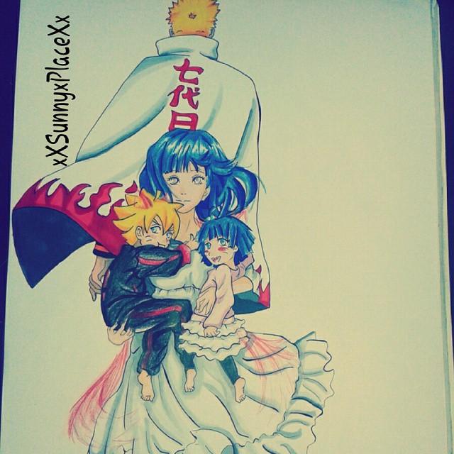 Boruto and Himawari - The Foxchildren by HinaNaru2302