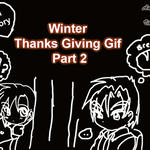 Winter Thanks Giving Gif Part 2 by Valcristsan